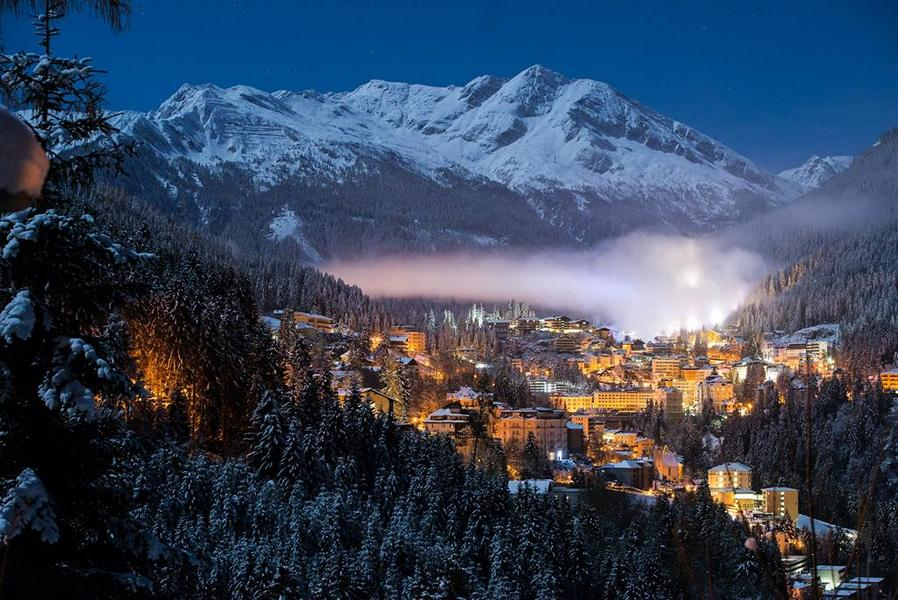 gastein night winter