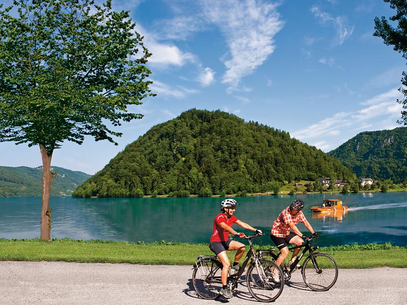 donauradweg Photo Oberoesterreich Tourismus Erber Danube Bike Path in Upper Austria